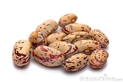 Pink haricot beans