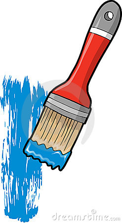Paint Brush Vector Illustration