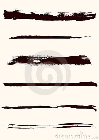 Grunge vector edges