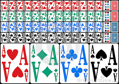 Partially Sighted Full Deck