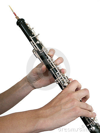 Oboe player