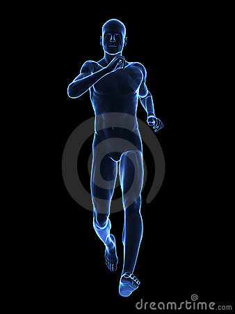 Running x ray man