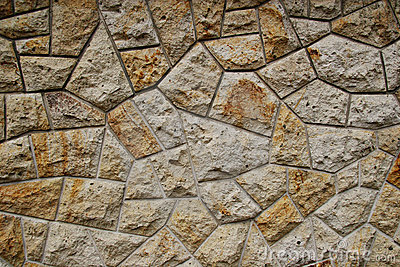 Texture from natural stone wall