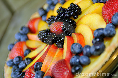Fruit Tart Close-Up