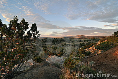 Sunrise Galisteo Mew Mexico