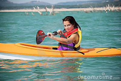 Kayak Girl