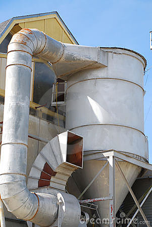 Oil Refinery Ventilation System