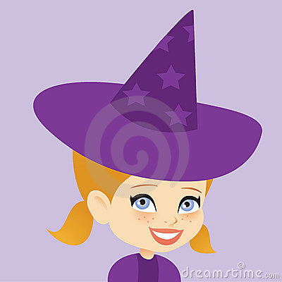 Halloween Costume Young Girl Witch