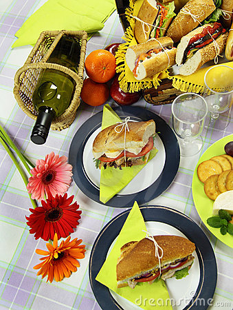 Picnic With Wine