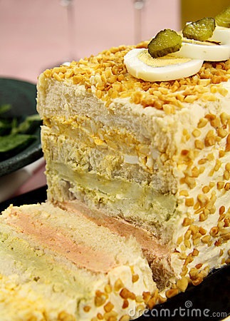 Salmon And Egg Loaf