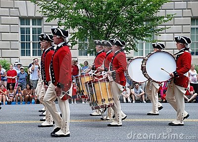Infantry Old Guard Fife & Drum Corps.