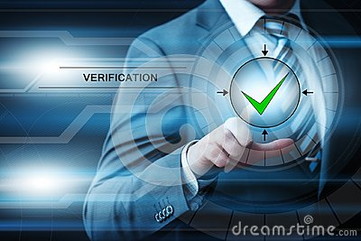 Verification System Control Biometric Business Internet Technology Concept