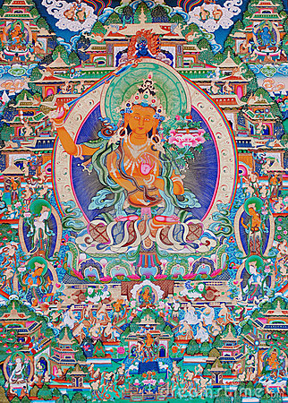 Buddha of thangka