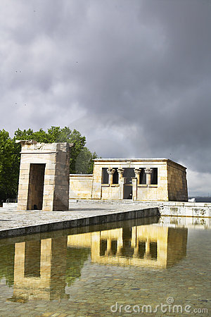 The temple Debod