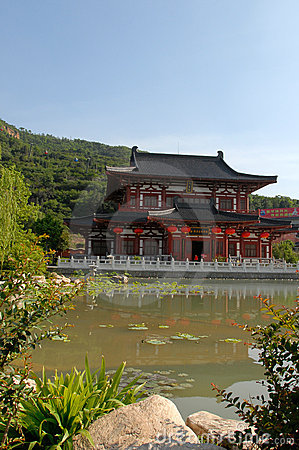 Palac in chinese style