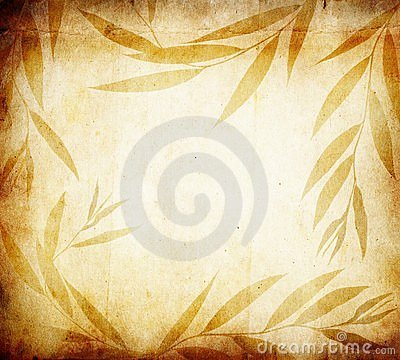 Floral paper background