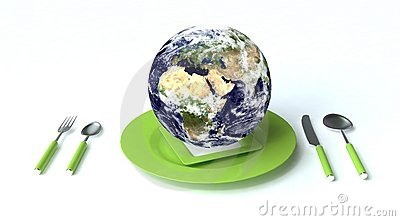 Earth for dinner