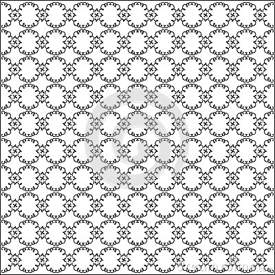 Vector curved seamless pattern