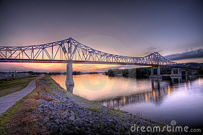 Bridge over the Mississippi