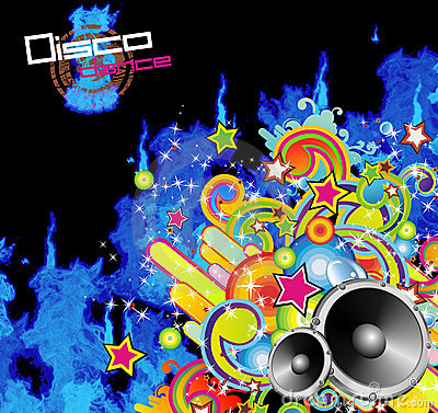 Abstract Music Flyer Background