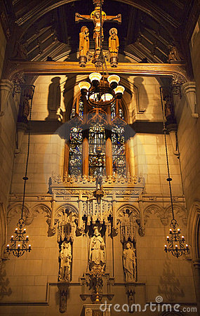 All Saints Chapel Trinity Church New York City