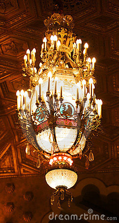 Alabama Theater Chandelier
