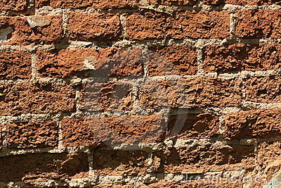 Brick wall, background.