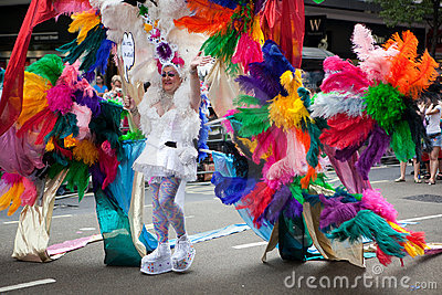 Pride London 2009 - colorfull costume
