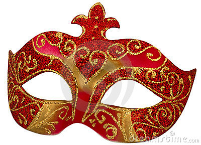 Venetian Mask with clipping path