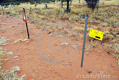Electric ring fence, Australia