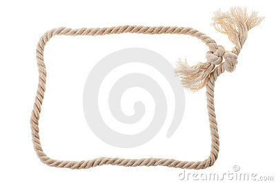 Cord with knot.