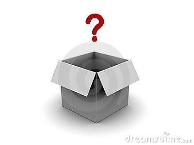 Box with question