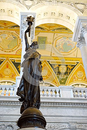 Library of Congress - statuary