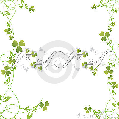 Magic flower background. vector