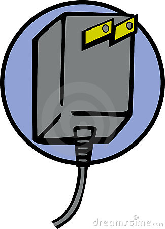 Power plug vector illustration