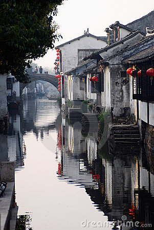 Chinese old water towm