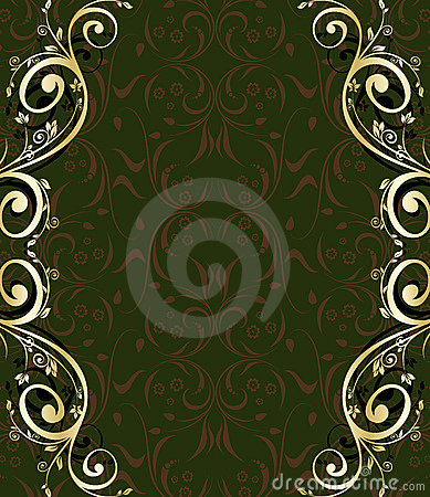 Abstract ornate frame