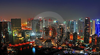 Dubai Night Scene 3
