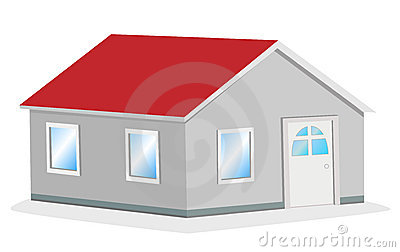 Simple house vector illustration