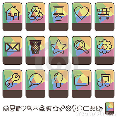 Tab icons set1