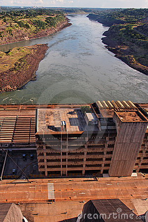 Itaipu Hydroeletric Power Plant