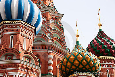 St. Basil Cathedral. Moscow.Russia