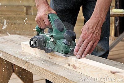 The tool of the carpenter