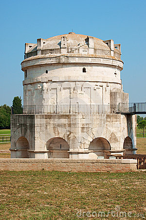 Mausoleum of Theodoric in Ravenna