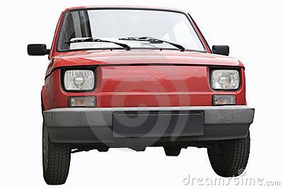 An old car - fiat 126p