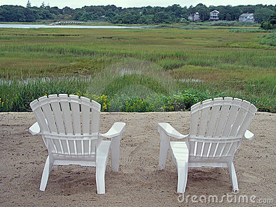 Chairs and marsh