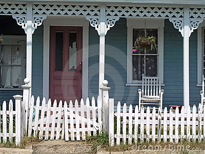 Old House with Porch