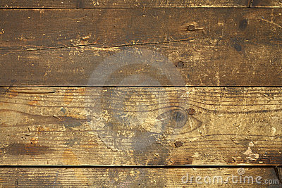 Dirty wooden background