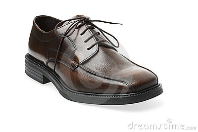 Brown Leather Shoe