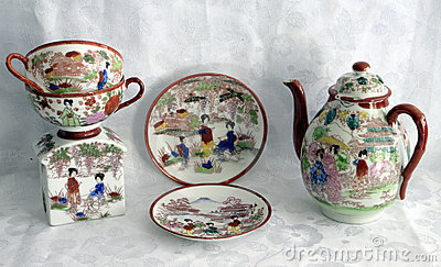 Painted china 5